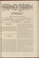 Violetas del Anáhuac, Año 1, Tomo 1, Número 44, 1888-10-07