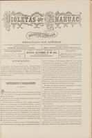 Violetas del Anáhuac, Año 1, Tomo 1, Número 55, 1888-12-23