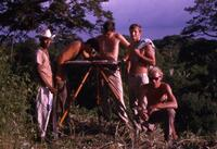 Comalcalco, \the crew\ (Gene Miller, Victor H, Rich Mogel, Carter Kerr, Don Hardesty)