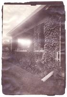 Unidentified house: exterior view of porch