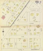 Sanborn Fire Insurance Maps Terrell, Texas, 1914, Sheet 2