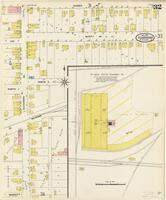Sanborn Fire Insurance Maps Texarkana, Texas, 1909, Sheet 32
