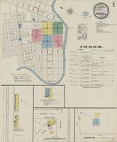 Sanborn Fire Insurance Maps San Angelo, Texas, 1894, Sheet 1