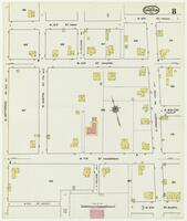 Sanborn Fire Insurance Maps Cameron, Texas, 1920, Sheet 8