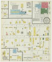 Sanborn Fire Insurance Maps Decatur, Texas, 1902, Sheet 1