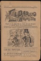 El diablito bromista, Tomo VIII, Número 8, 1904-08-28