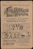 El diablito bromista, Tomo VIII, Número 4, 1904-07-31