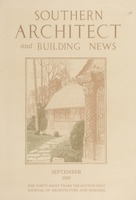 Southern Architect and Building News, Volume 56, no. 9, September 1930