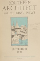 Southern Architect and Building News, Volume 55, no. 9, September 1929
