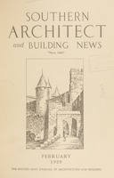 Southern Architect and Building News, Volume 55, no. 2, February 1929
