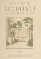 Southern Architect and Building News, Volume 56, no. 7, July 1930