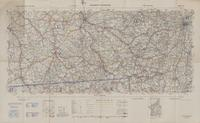 Europe road map 1:200,000. Sheet 62, Chaumont-Strasbourg   Geographical Section, General Staff No. 4238 ; Army Map Service, U.S. Army.