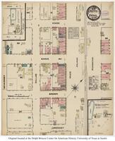 Sanborn Fire Insurance Maps Ennis, Texas, 1884, Sheet 1