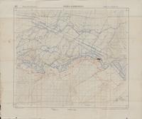 Forêt d'Apremont. 42 : tirage du 5 Fevrier 1918   Groupe des canevas de tir.
