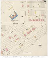 Sanborn Fire Insurance Maps El Paso, Texas, 1908, Sheet 24