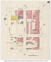 Sanborn Fire Insurance Maps El Paso, Texas, 1908, Sheet 48