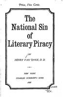 The national sin of literary piracy : a sermon